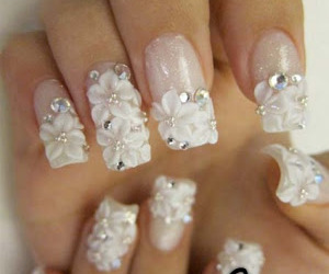 art, french, and manicure image