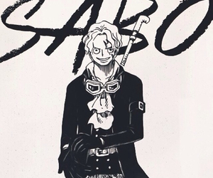 one piece and sabo image