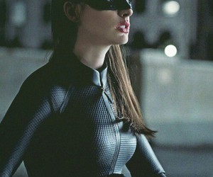 batman, catwoman, and Anne Hathaway image