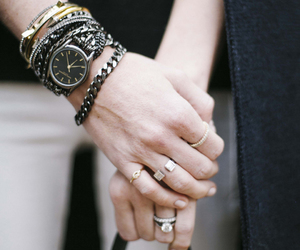 rings and watch image