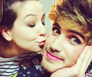 zoella and joey graceffa image
