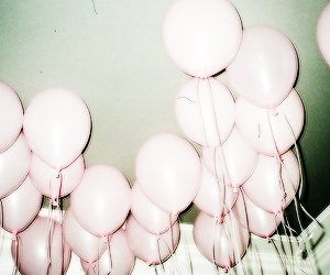balloons, header, and grunge image