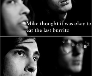 pierce the veil, vic fuentes, and mike fuentes image