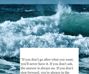 do it, go for it, and ocean image