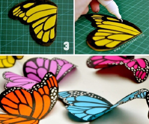 butterfly and diy image