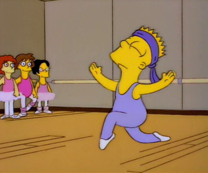 fabulous, simpsons, and bart image