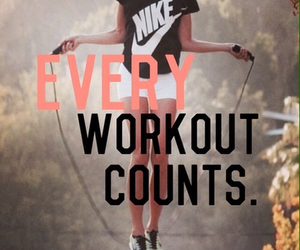 workout, fitness, and nike image