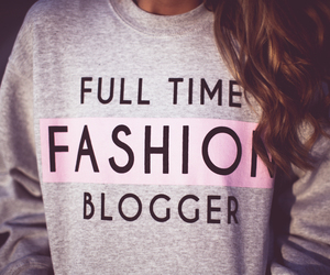 fashion, blogger, and sweater image