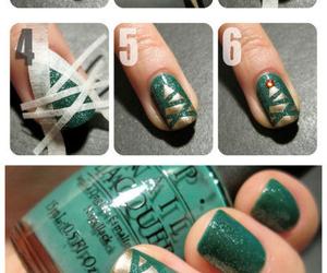 nails, green, and diy image