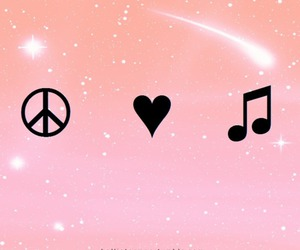 heart, life, and music image