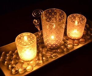 candlelight and candles image