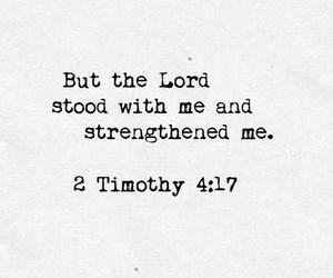 god, jesus, and strength image