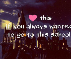 harry potter, hogwarts, and school image