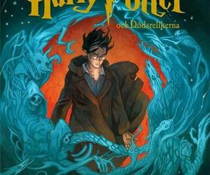book cover, harry potter, and hp image