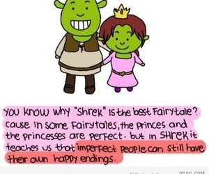 shrek, fairytale, and quote image