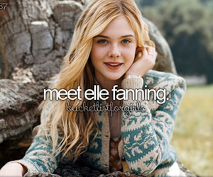 beforeidie, Elle Fanning, and girly image