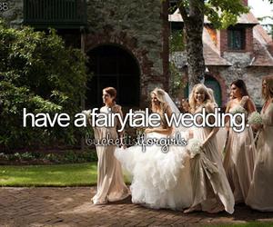 fairytale, wedding, and love image