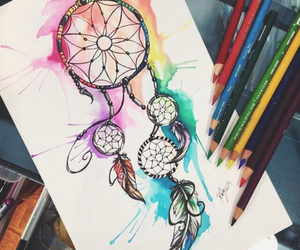 amazing, art, and dreamcatcher image