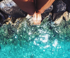 summer, water, and beach image