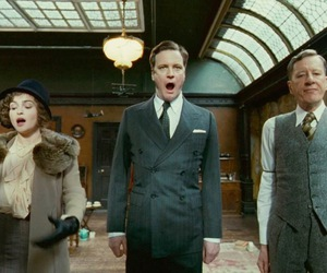 the king's speech, Colin Firth, and geoffrey rush image