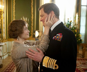 Colin Firth, helena bonham carter, and the king's speech image