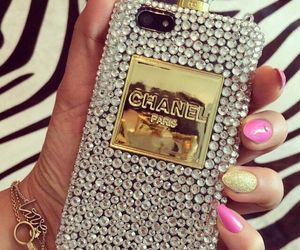chanel, iphone, and glam image