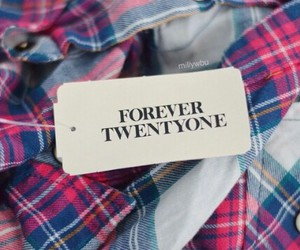 clothes, flannel, and forever 21 image