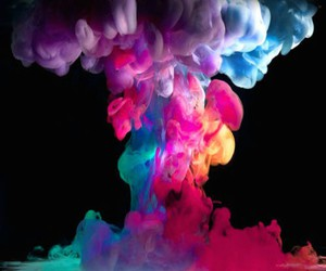 smoke, colors, and color image