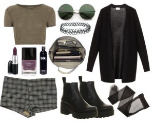 clothes, grunge, and fashion image