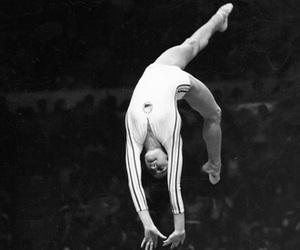 gymnastic, beam, and gymnastics image