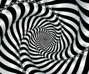 illusion, spiral, and optical image