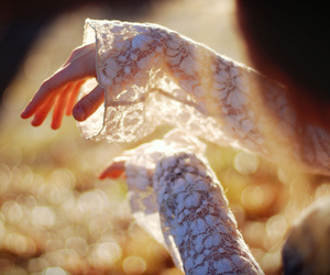 hands and lace image