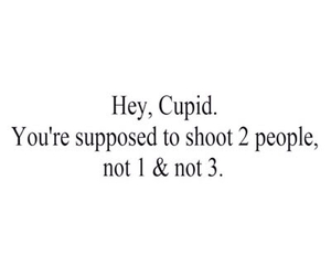 love, cupid, and shoot image