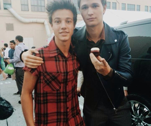 cameron dallas, ansel elgort, and ansel image