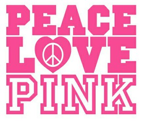 peace, pink, and quotes image