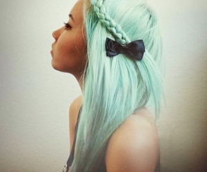 bow, style, and braid image