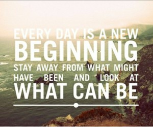 quote, beginning, and life image
