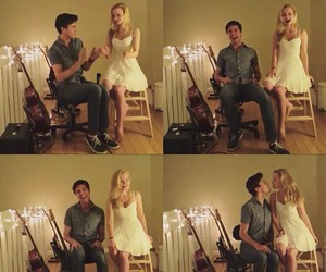 dove cameron, couple, and love image