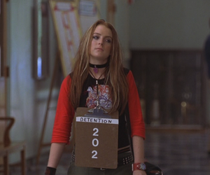 lindsay lohan, freaky friday, and detention image