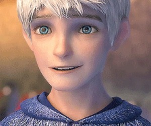 blue eyes, dreamworks, and jack frost image