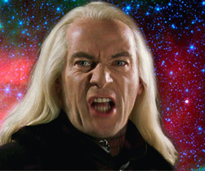 funny, harry potter, and lucius malfoy image