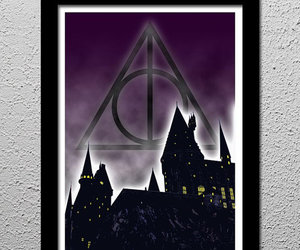 harry potter, hogwarts, and the deathly hallows image