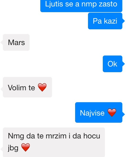 Ljubavna veza chat