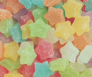 candy, stars, and sweet image