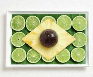 brasil, flat, and food image