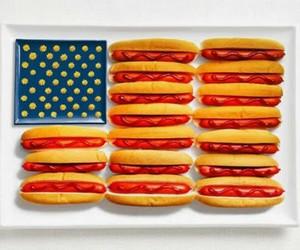 food, america, and hot dog image