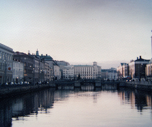 city, photography, and water image