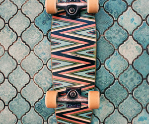 skateboard, skate, and cool image