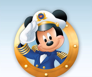 captain, cruise, and disney image