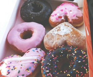 donuts, love, and perfect image